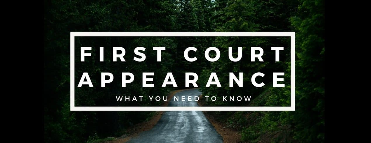 Your First Court Appearance